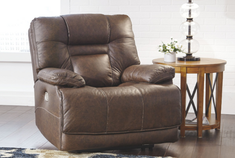 Walworth Power Leather Recliner