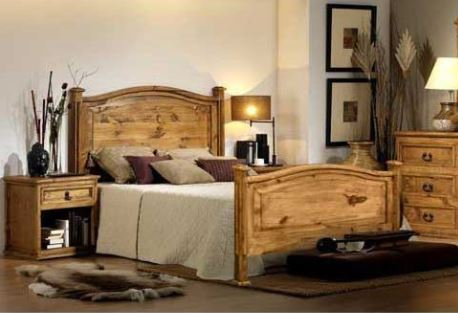Wesley Rustic Queen Bed - Katy Furniture