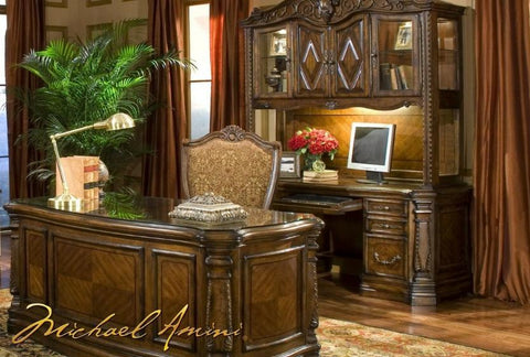 Windsor Court Executive Desk - Katy Furniture