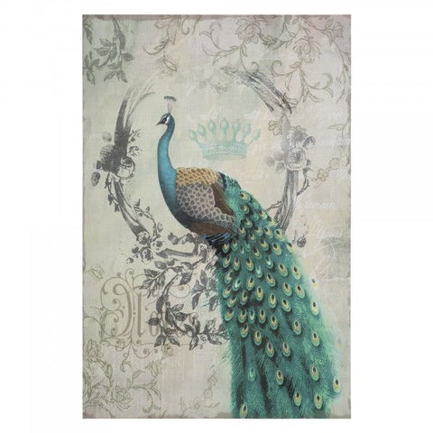 Peacock Poise II Wall Art