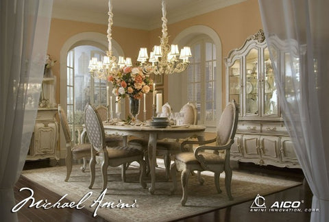 lavelle blanc oval dining room 5