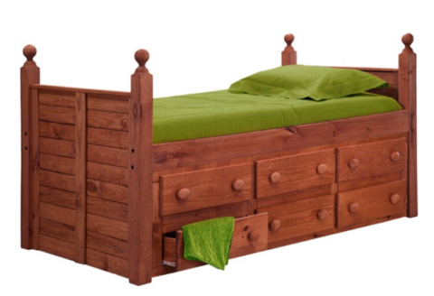 Andrew Twin Captin Daybed - Katy Furniture