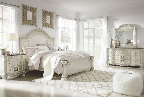 Cassimore King Panel Bedroom Set - Katy Furniture