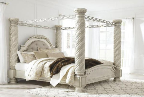 Cassimore King Canopy Bed - Katy Furniture