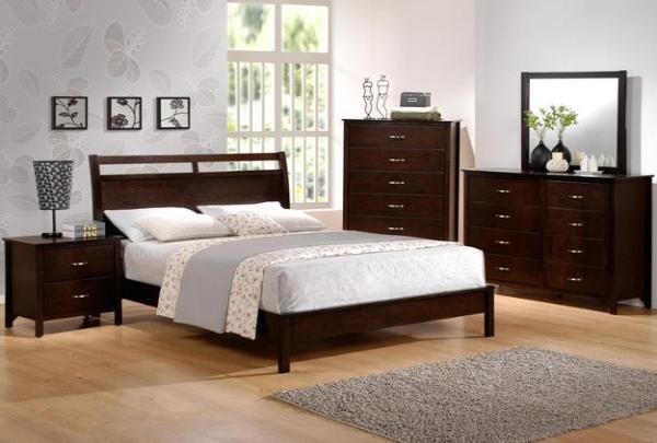 Ian King Bed w/ FREE Dresser, Mirror, and Nightstand