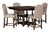 Baxenburg Table w/4 Upholstered Chairs
