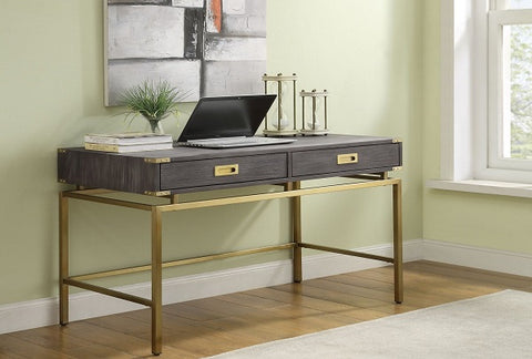 Beacon Hill Contemporary Two Drawer Desk
