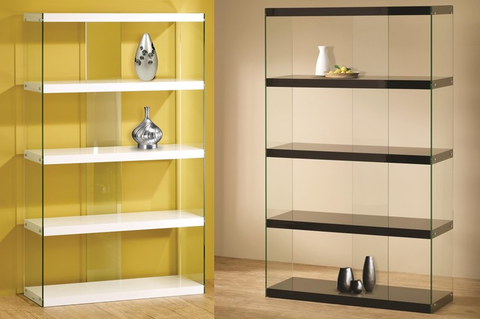 Tempered Glass Bookcase