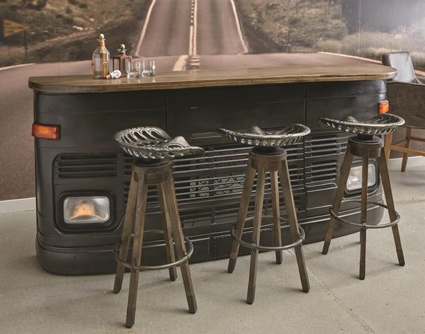 Granite Falls Bus Bar Katy Furniture