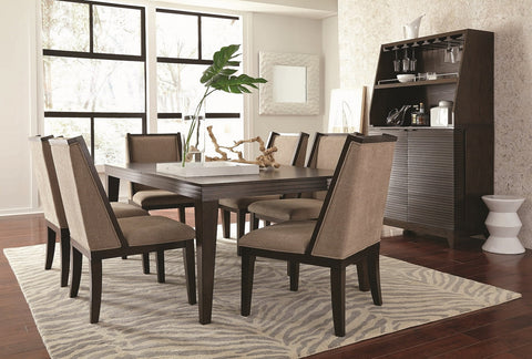 Cascade Table W/ 6 Chairs