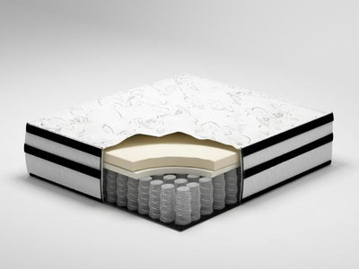 Peak Hybrid Mattress & Boxspring - Katy Furniture