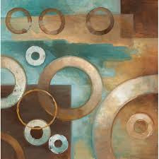 Circular Motion I By Elaine Vollhebst - Lane - Katy Furniture