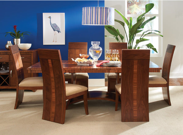 Milano regular height table w 4 chairs katy furniture - Enticing modern dining room tables enticing gathering space ...