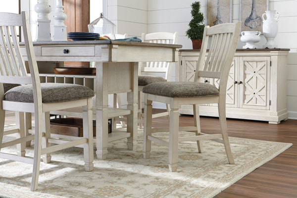 Bolanburg Counter Height Dining Room Set Table W 4