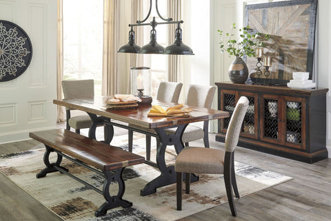 Zurani Dining Table with 4 Chairs