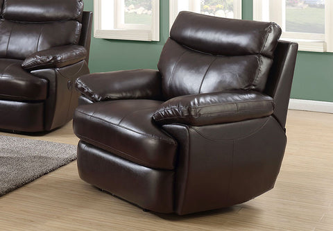 Trudeau Leather Recliner - Katy Furniture