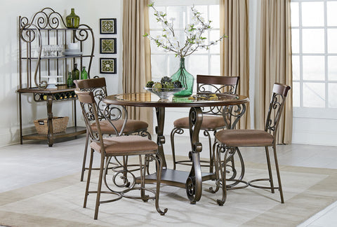 Bombay Table W/ 4 Chairs