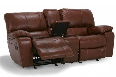 Grandview Leather Loveseat