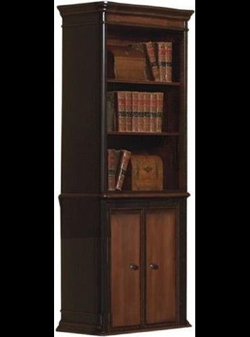 Gorman Two Tone Bookcase - Katy Furniture