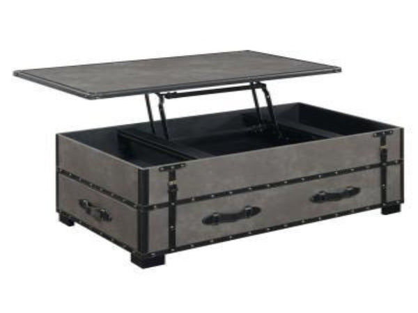 Lift Coffee Table.Louie Grey Lift Top Coffee Table