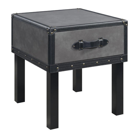Louie Grey End Table