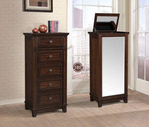 Harwich Swivel Jewelry Chest