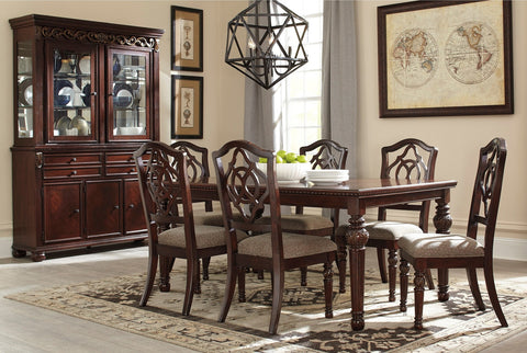 Leahlyn Table w/ 6 Chairs - Katy Furniture