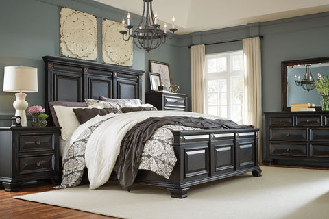 Passages King Bedroom Set - Katy Furniture