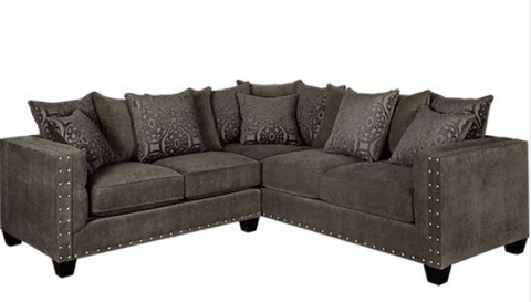 Lindsey Vintage Overcast Sectional