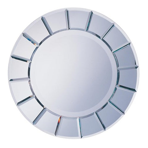 Round Sun-Shape Mirror - Katy Furniture