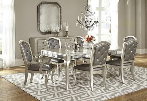 Diva Table W/ 6 Chairs - Katy Furniture
