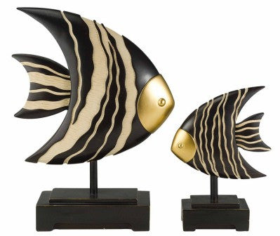 Decorative Fish 2pc Set