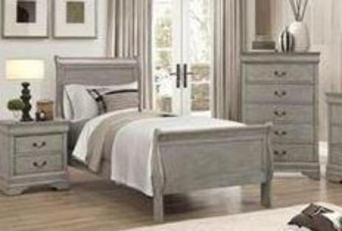 Exceptionnel Phillip Grey Twin Bed