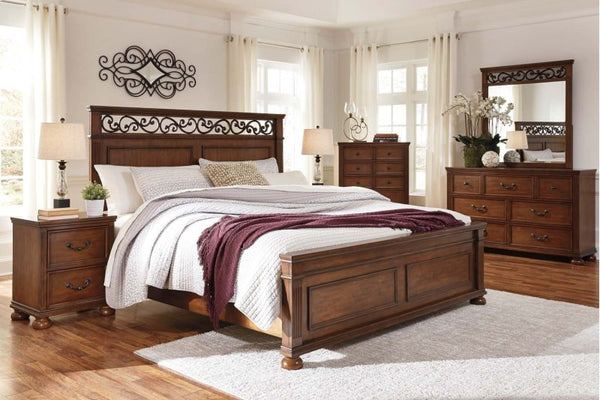 lazzene queen bedroom set katy furniture 10214 | room shot grande v 1538262771