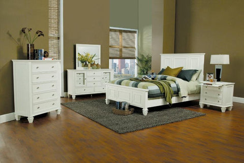 Sandy Beach Queen Bedroom Set - Katy Furniture