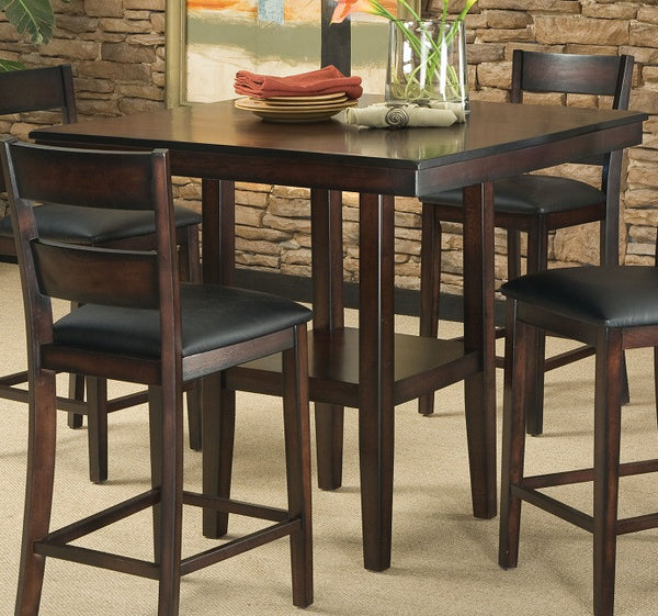 Counter Tables And Stools: Tahoe Counter Height Table W/ 4 Chairs