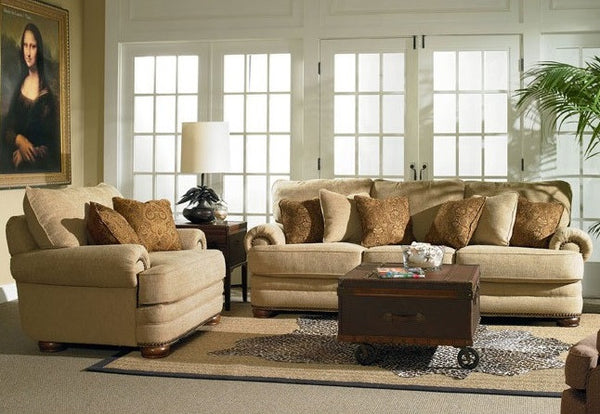 Stanton oversized sofa loveseat katy furniture for Couch deals near me