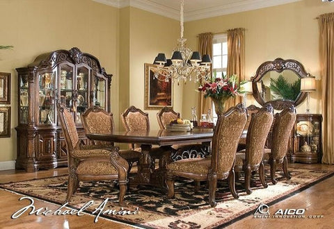 Windsor Court Table W/ 6 Chairs