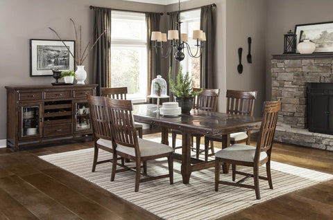 Wolf Creek Table W/ 4 Chairs