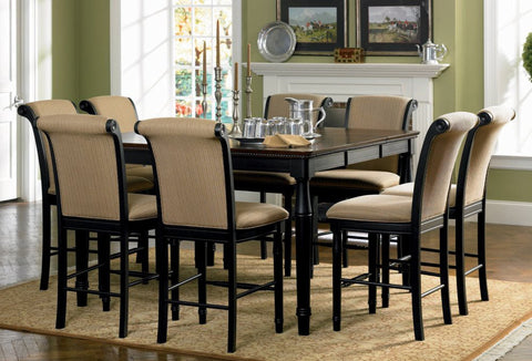 Aspen Table w/ 4 Chairs - Katy Furniture