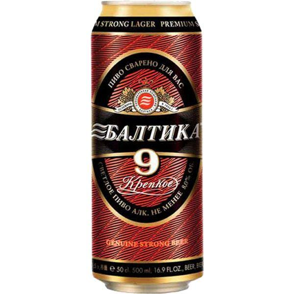 BALTIKA 9 PIVE BANKA 450ML