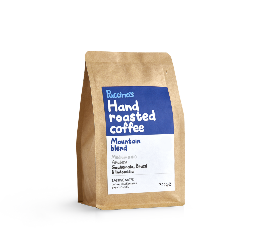 Puccino's Mountain Blend Coffee 200g .png