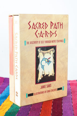 Sacred Path Cards and Book Set by Jamie Sams
