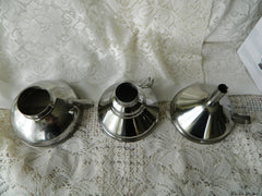 Kuchenprofi 18/10 Stainless Steel Funnel with strainer