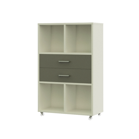 Cube Storage with Long Drawers
