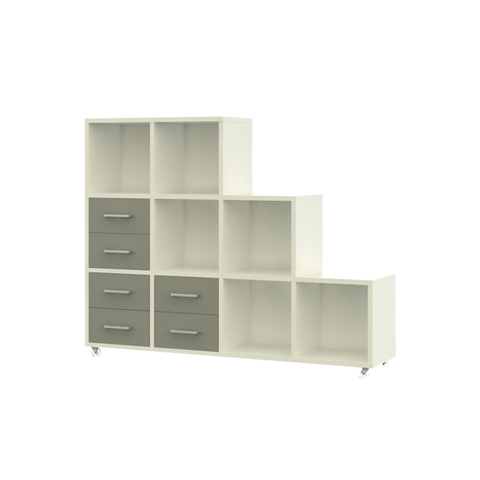 Cube Storage with Drawers