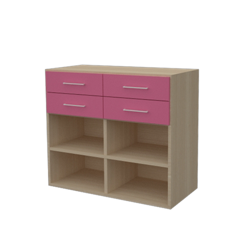 Childs Storage Cube with Drawers