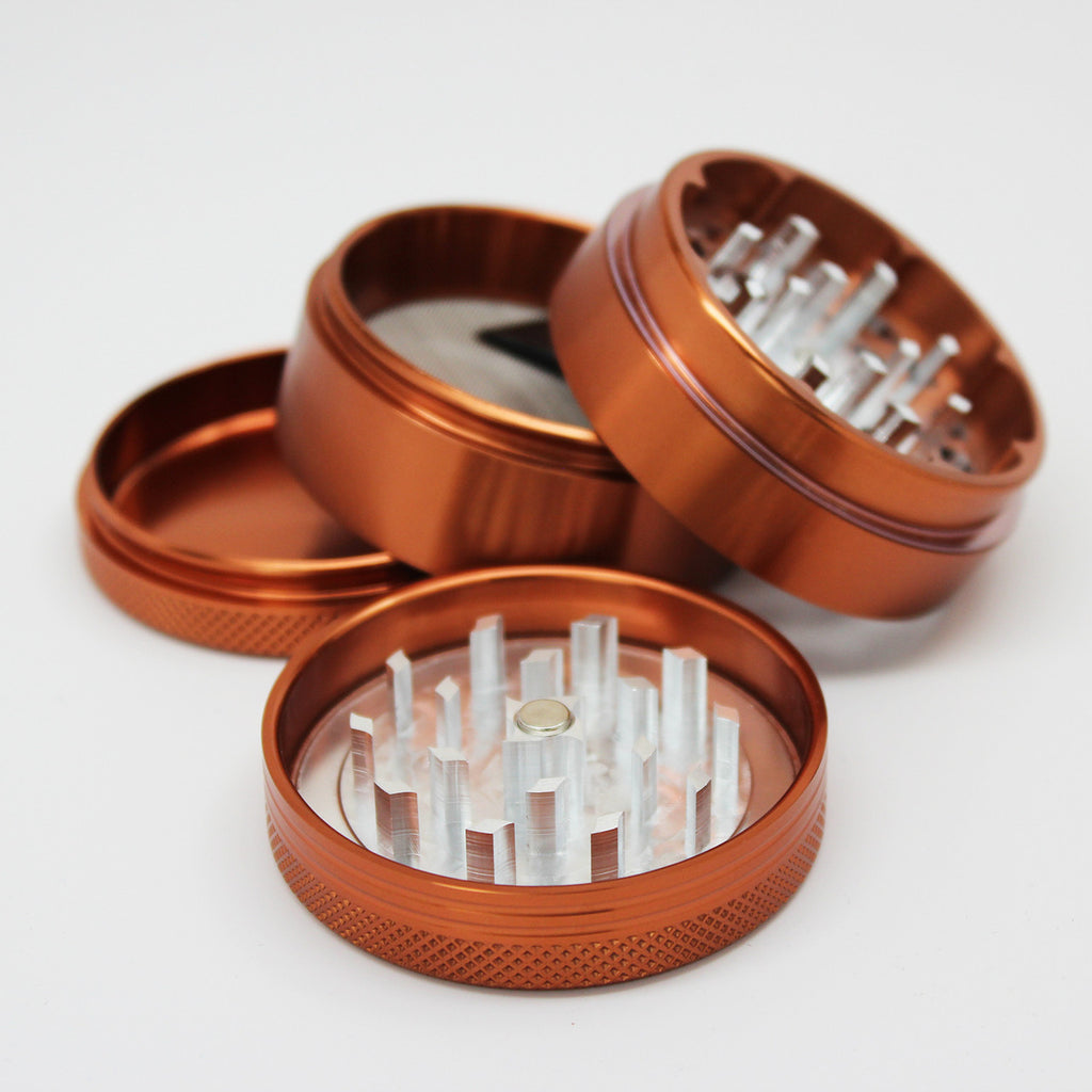 "4-Piece Sifter Grinder 2.2"" (9 Colours)"