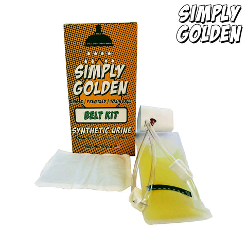 Simply Golden Belt Kit Synthetic Urine