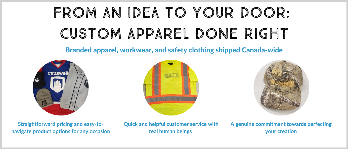 From an idea to your door: custom apparel done right